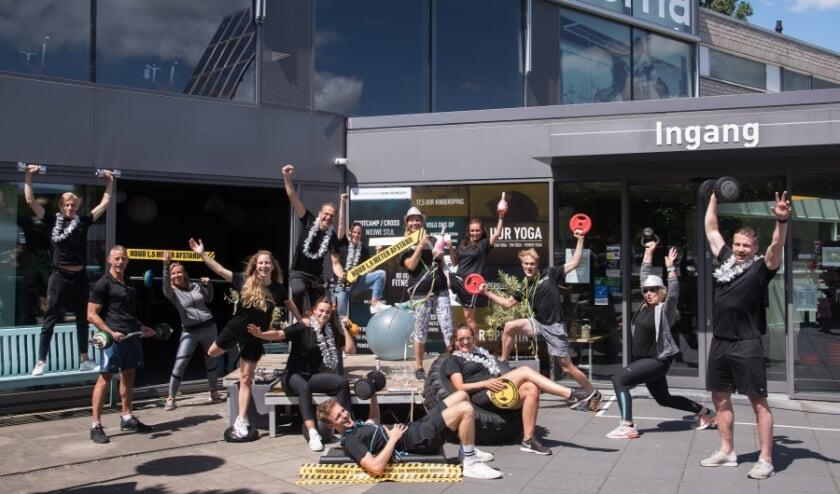 Instructeurs van Sportcentrum Iedema konden hun leden vanaf 1 juli weer ontvangen. Foto: Karin Huijzendveld - KH Fotografie