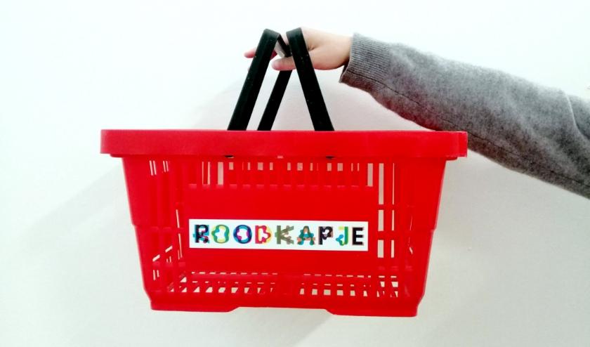Net als in andere supermarkten is een mandje of wagentje verplicht!