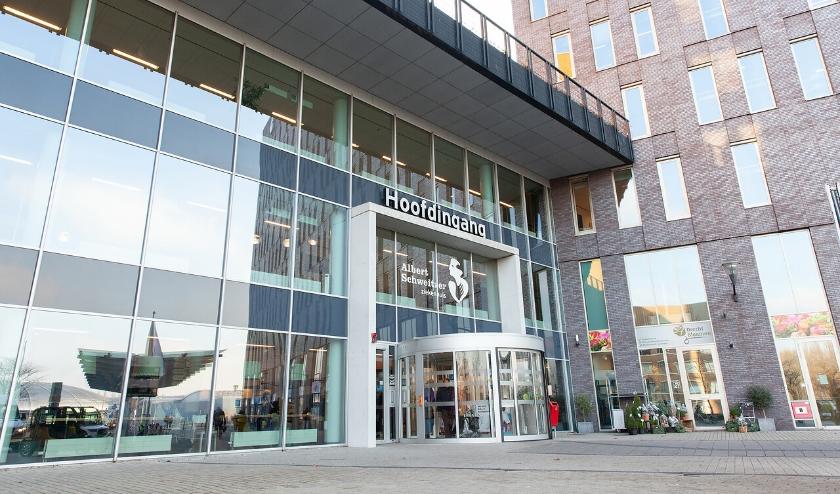 Het Albert Schweitzer ziekenhuis maakt zijn jaarcijfers bekend. (Foto: pr)