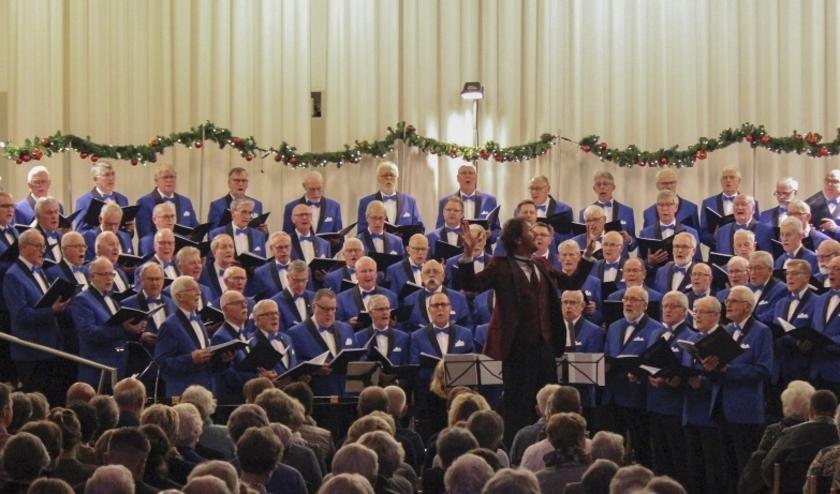 Kerstconcert van het Ritmeester - Veenzangers Mannenkoor, in pré-corona-tijden.
