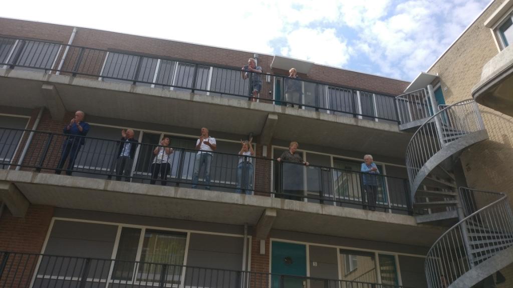 Publiek op hoogte. Foto: Eigen foto © DPG Media