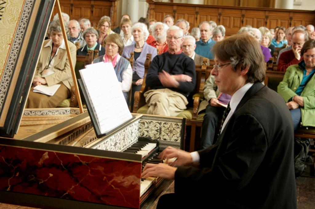 Eén van de zes musici in wie Culemborg investeert. Foto: via Roos van Culemborg © DPG Media
