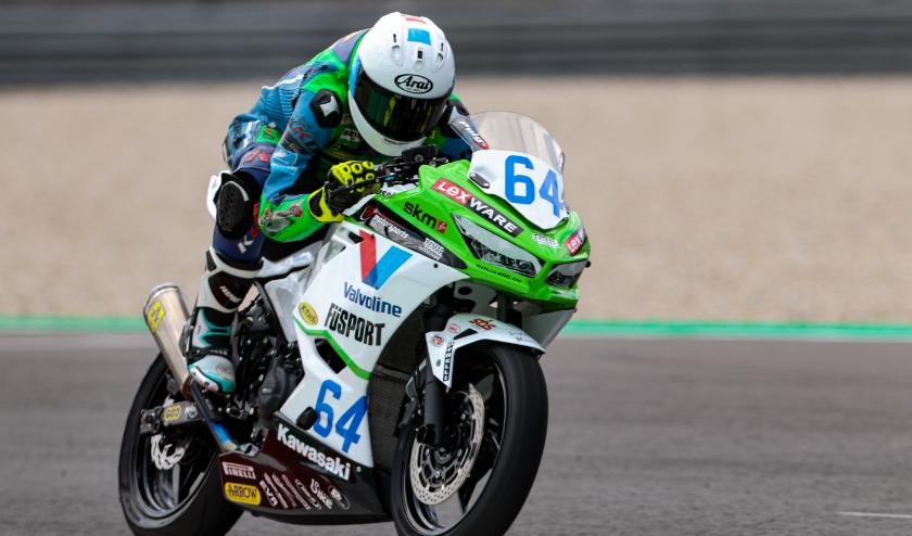 Colin Velthuizen (16) uit Heerjansdam heeft goed getraind op het TT Circuit Assen. (Foto: Damon Teerink - Racing Passion Photography)