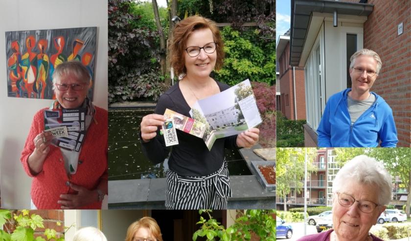 Prijswinnaars: D. Harmsen, J. Kraaijenbrink,   K. Bosma, M. Van Uum en W. Flach.