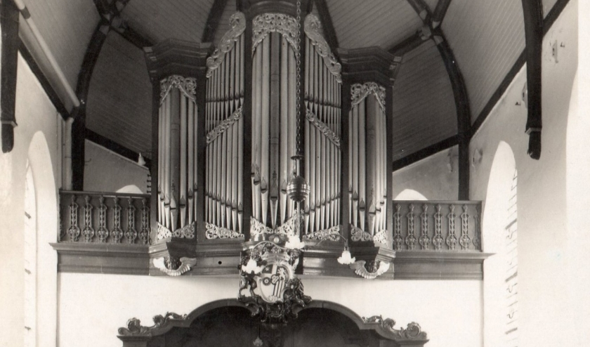 In dit fotokader past helaas slechts een deel van dit fraaie orgel. (Foto: pr)