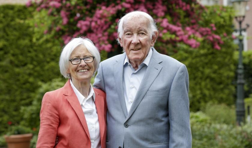 Ton en Mieke zijn al zestig gelukkige jaren met elkaar getrouwd. Foto: Jurgen van Hoof.