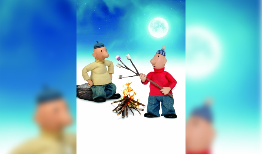 Kleurplaten van Buurman & Buurman en andere figuren die regelmatig in het theater staan, zijn te vinden op www.isalatheater.nl.