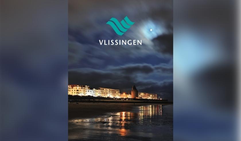 De omslag van de nieuwe en gratis stadsplattegrond van Vlissingen.
