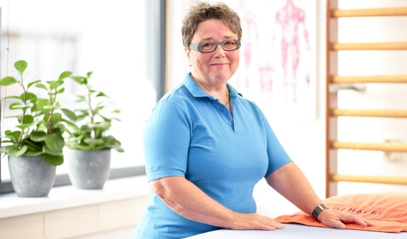 Manueel therapeut Marina van Bentem.