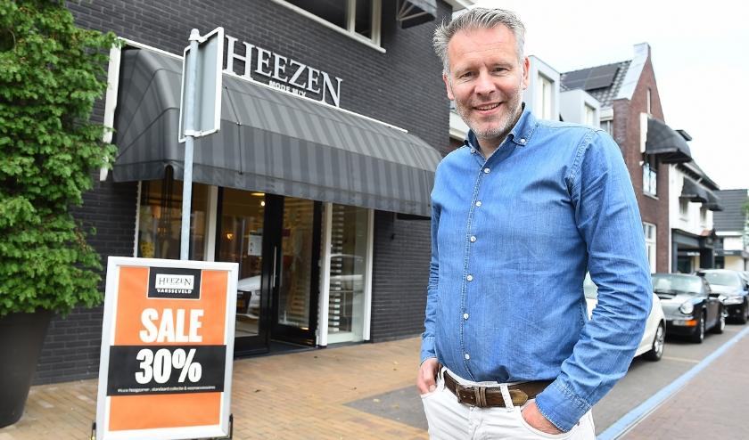 Erik Beltman van Heezen mode in Varsseveld. (foto: Roel Kleinpenning)