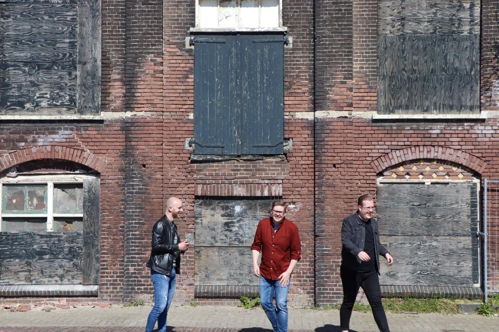 Jelle Rijnsdorp, Remco de Man & Bastiaan Visser Foto: Tom Poortman © DPG Media