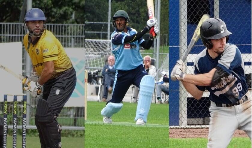 Landskampioen cricket Excelsior'20 en Hermes DVS zetten vooral in op de T20-competitie. Schiedams honkballers beginnen aan het tweede seizoei in de topklasse. (foto's DPG/gsv)