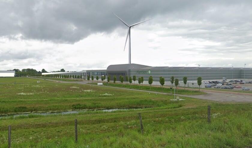 Een visualisatie van Windmolen Plantion.
