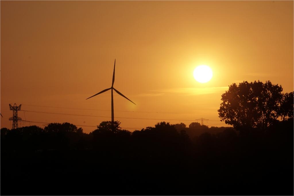 Windpark Nijmegen-Betuwe Foto: Christine Wevers © DPG Media