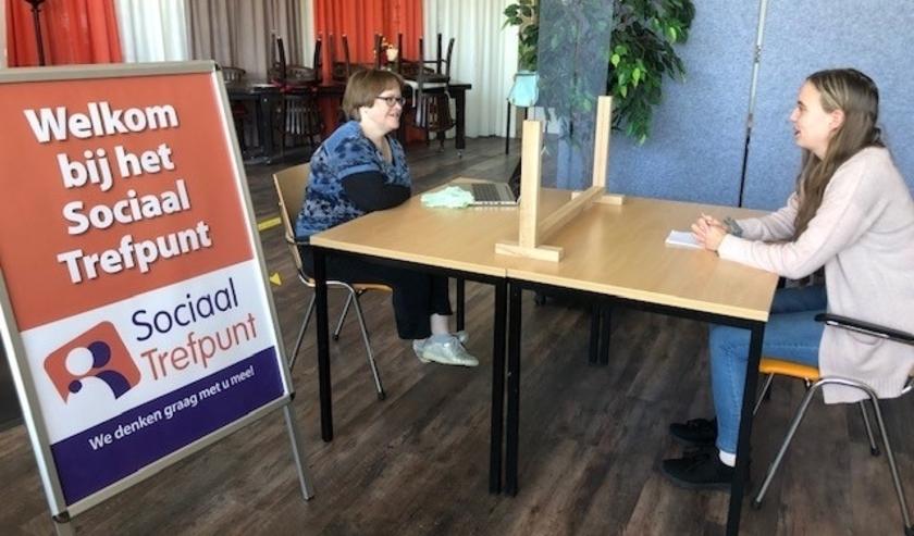 Vorige wek vrijdag is het Sociaal Trefpunt weer geopend.
