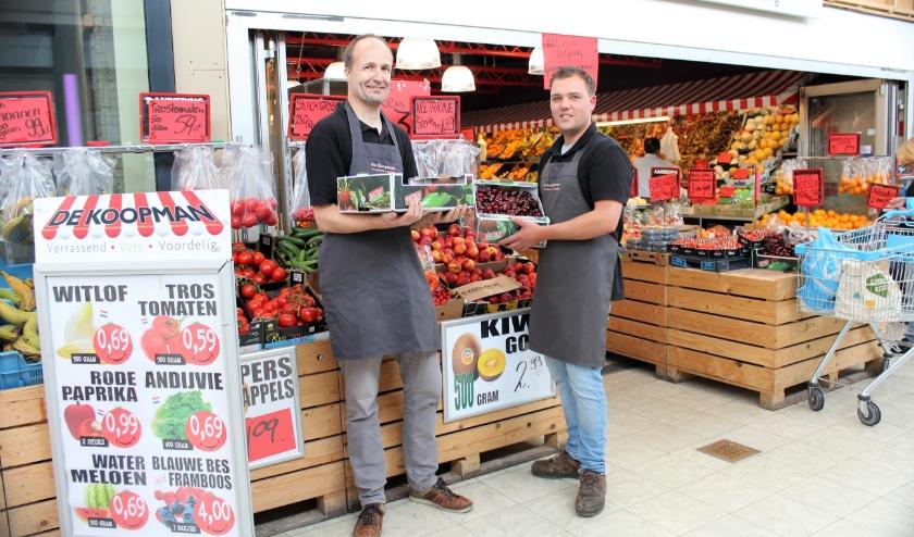 De Koopman is een groente- en fruitwinkel in winkelcentrum De Scholver in Capelle
