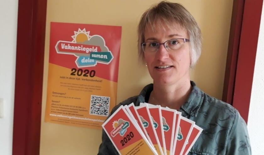 Coördinator van de actie, Gertrudeke van der Maas