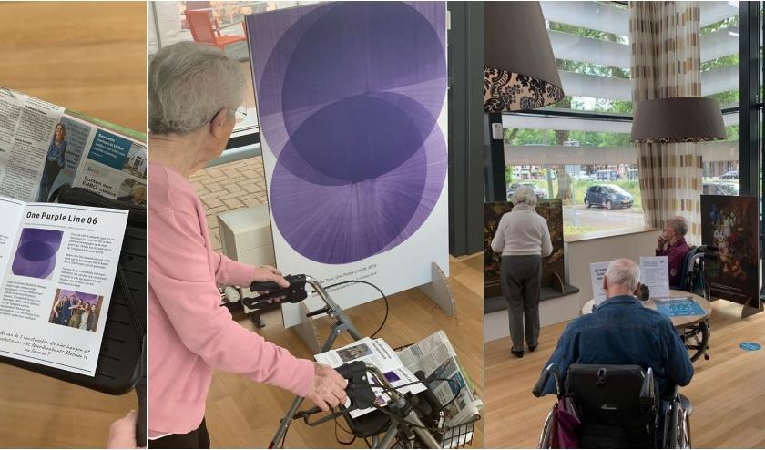Als je niet naar het museum komt, dan komt het museum naar jou toe. Dat is het idee van de Club Goud Pop-up Expo bij Woonzorgcentrum Nieuwenhage.