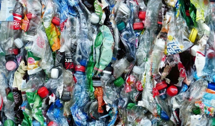 Plastic flessen, klaar voor recycling. FOTO: PixaBay.