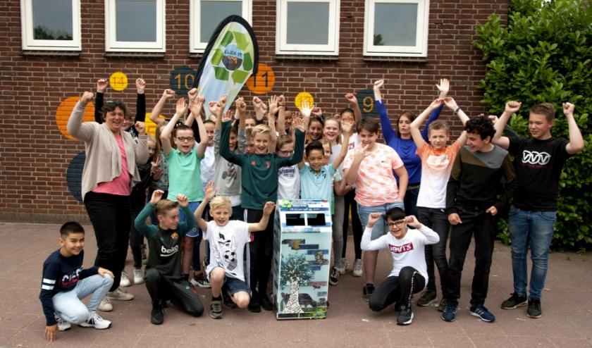 Kindcentrum In het Hart van het Hout wint de Kunstprijs.