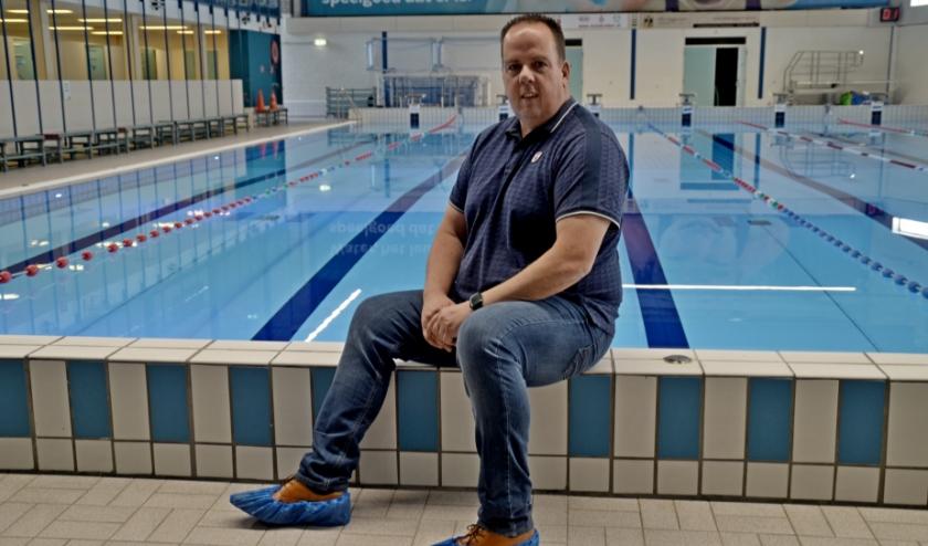 """Manager Alwin Heij: """"De gezondheid van ons gasten moet gewaarborgd zijn, daar doen wij alles aan"""" (foto Jan Boer)"""