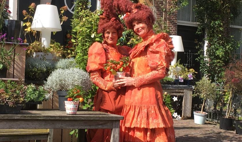 Het Hengelose duo Poeder & Plusj zijn elk jaar van de partij tijdens het Straatfestival in Delden