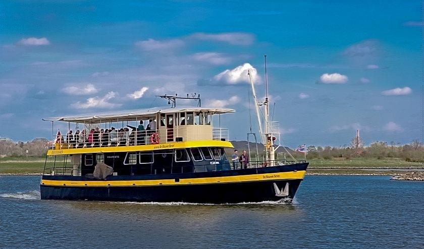 De Blauwe Bever vaart vanaf 4 juli weer op Rijn en Lek.