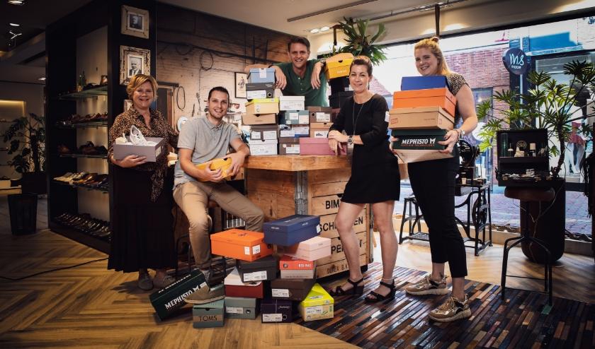 Schoenenwinkel Van Keeken introduceert service op afspraak in deze gekke tijd. Foto: Bymip