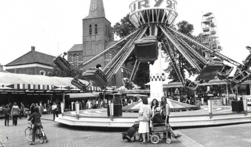 De kermis in Deurne in vroegere jaren.