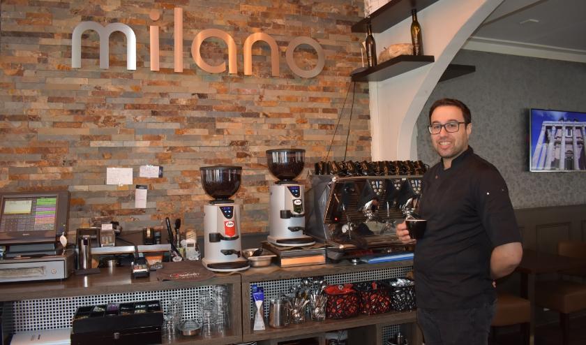 Bij Milano zijn gasten weer welkom voor een kopje koffie, lunch en diner.