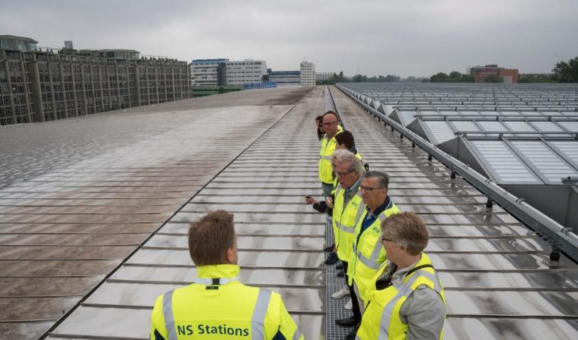 Het dak van Rotterdam Centraal.
