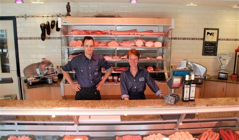 Na 72 drukke maar mooie jaren stopt de ambachtelijke slagerij van Brenda en zoon Dirk Smolders.