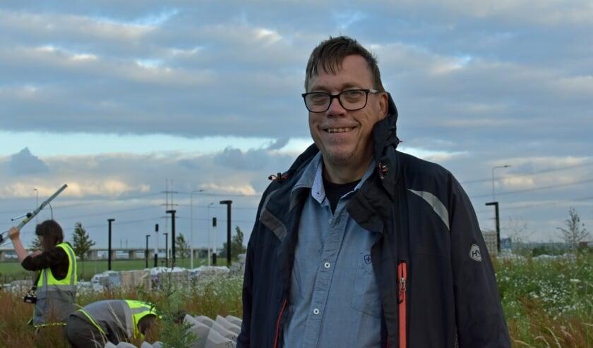 """Stadsecoloog Hendrik Baas: """"Dankzij dit onderzoek beschikken we straks over zeer gedetailleerde informatie."""" Foto: RM"""