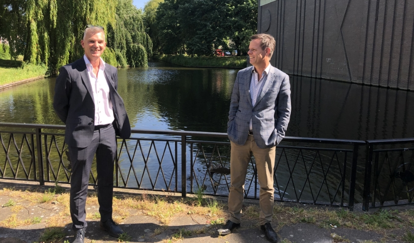 Rob van den Broeke en Marnix Norder verheugen zich op de samenwerking.