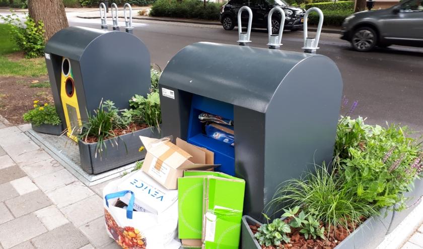 Superblij zijn de buurtbewoners met de containerplantenbakken. (Foto: Louise Mastenbroek)