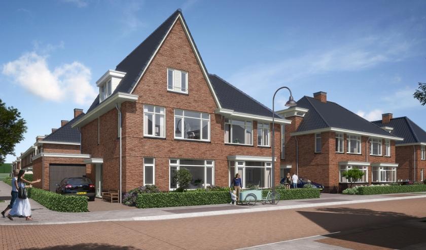 Artist impression type woningen die worden opgeleverd in Park Hooglede.