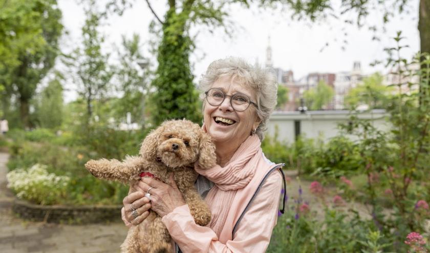 OOPOEH Christine en hond Sammy