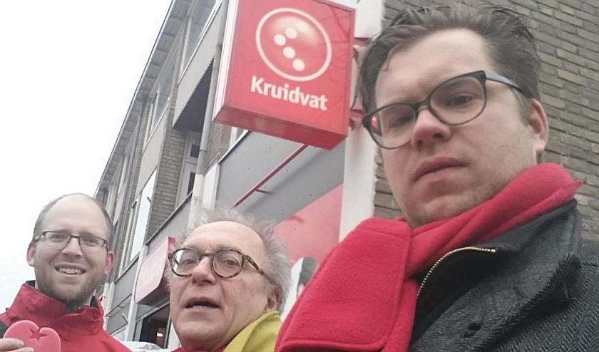 VLNR: Raadscommissieleden Sietse van der Bij, AJ Breur, Fractievoorzitter Jan Breur