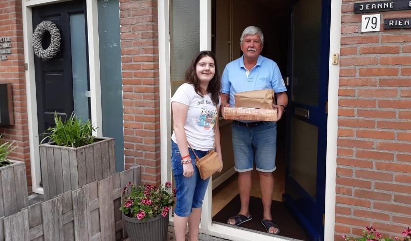 Stichting Droomhuis Hoeksche Waard organiseerde een ontbijtactie voor Vaderdag. (foto: pr)