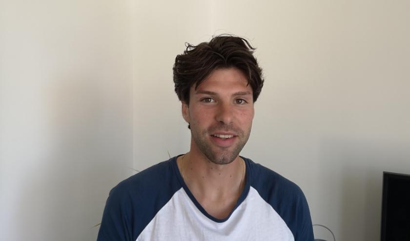 Jonathan Sanderse (28) is vrijwillig penningmeester bij Stichting Vakanties Minima Walcheren.