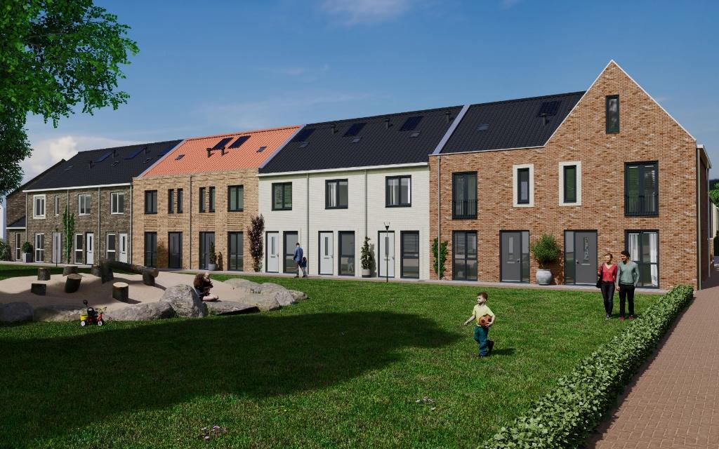Exterieurimpressie project Thuishaven, bouwnummers 28-37. Foto:  © DPG Media