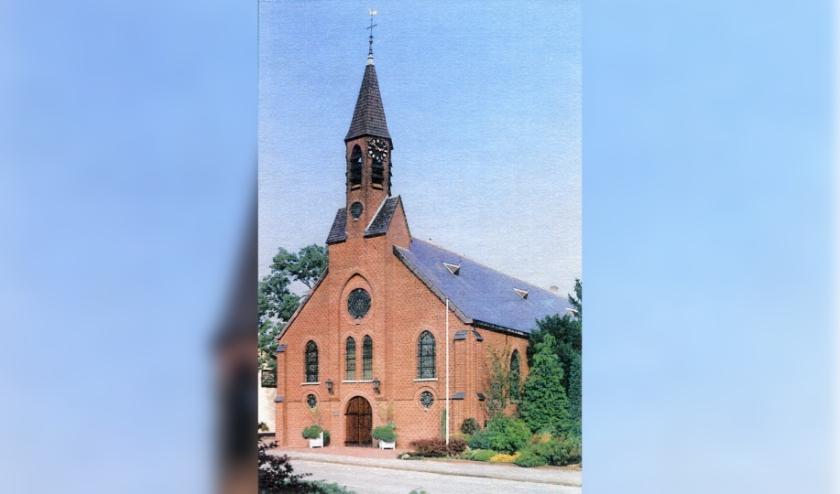 De St. Martinuskerk in Wijnbergen.