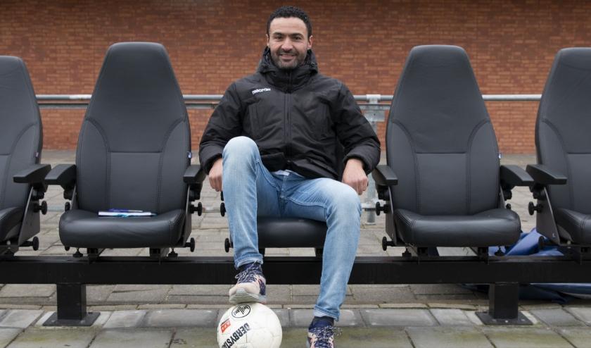 Nabil Bouchlal voelt zich thuis bij Kerkwijk. De oud-prof is tot medio 2023 aan de club uit de Bommelerwaard verbonden.