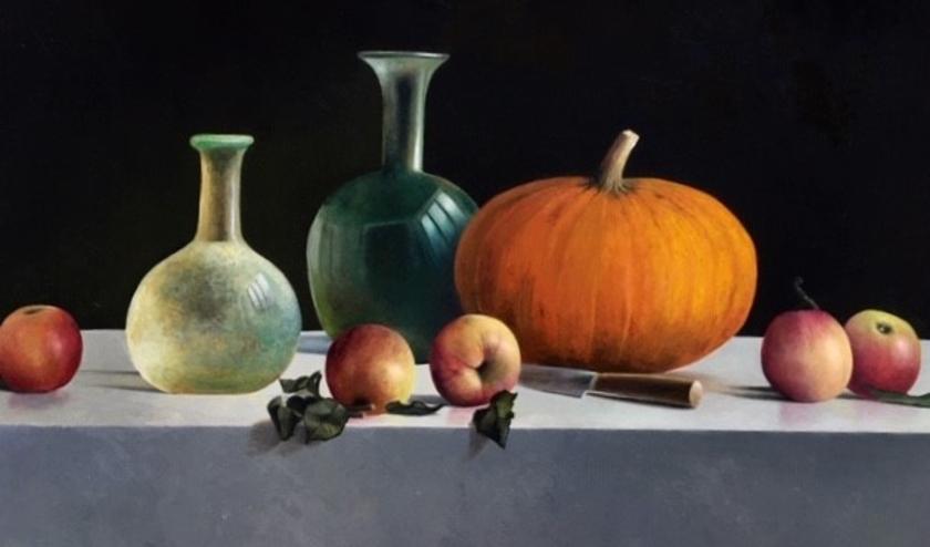 Een van de werken zie vanaf vrijdag is te bewonderen in Galerie Alphen.