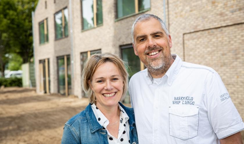 Caroline en Edwin Rienstra, het echtpaar dat Gastenhuis Bennekom gaat leiden. Foto's: Mike Raanhuis