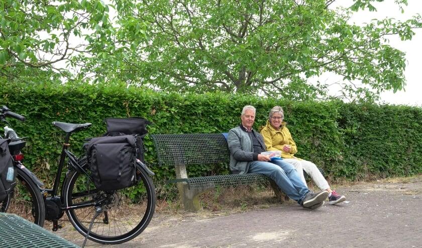 Piet en Anja van Bohemen komen geregeld in ons gebied. Ze noemen het de mooiste streek van Nederland!