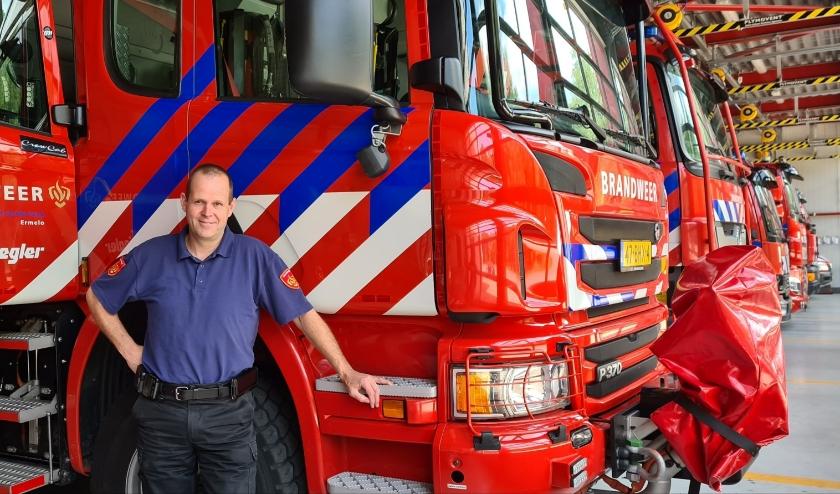 Kersverse postcommandant Bart van Veldhuisen heeft het mooiste vak dat er is.(foto: Arda Konings)