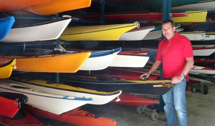 Toon van den Hooren: 'Ik help mee met trainingen en verricht kleine reparaties aan de boten'