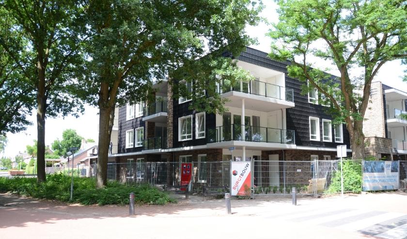 In dit nieuwe complex, Speelheiderhof, wordt de buurthuiskamer gerealiseerd.