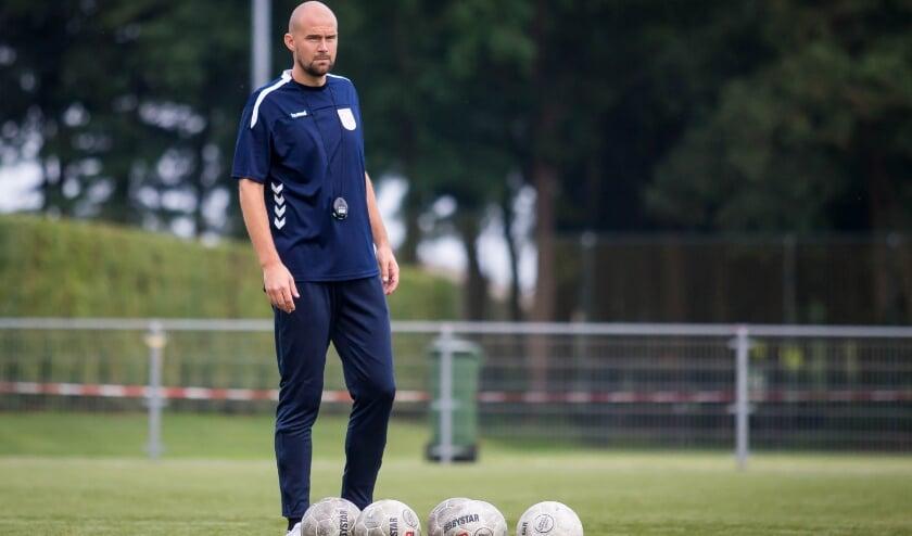 Nieuwe hoofdtrainer John Martens wil dat FC Horst gaat meedoen in de tweede klasse G. (foto: Wm Balke)